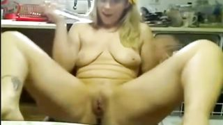 Blonde chubby lady with big tits and big rack was fingering herself--_short_preview.mp4