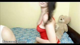 Brunette teenage slut on a big cock ride--_short_preview.mp4