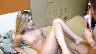 Bootyful blonde gives her boyfriend a nice blowjob in 69 position--_short_preview.mp4