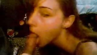 Here is my beautiful slender girlfriend on her knees sucking it--_short_preview.mp4