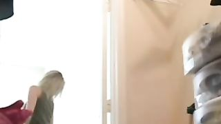 Skinny and young white wife trying on new clothes on hidden cam--_short_preview.mp4