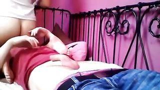 Self confident nympho rides her boyfriend's dick like a fucking cowgirl--_short_preview.mp4