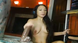My bootyful GF rides her favorite dildo with great enthusiasm--_short_preview.mp4