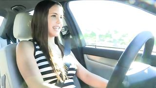 My buddy's playful and sinful brunette chick drives car topless--_short_preview.mp4