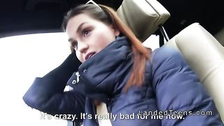 Busty teen flash tits and grab cock in car to stranger--_short_preview.mp4