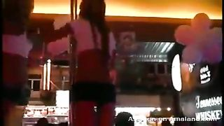 Sweet and hot amateur girls dancing on the stage in the night club--_short_preview.mp4