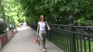 Kristina pees her pants in a public place and walks down the park--_short_preview.mp4
