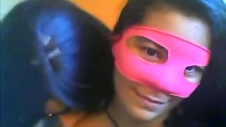 Masked webcam teen from Mexico sucks cock of her BF--_short_preview.mp4