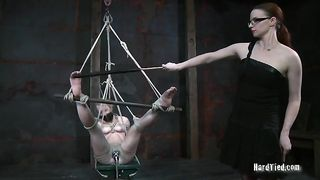 Salacious nympho gets brutally punished for her bad behavior--_short_preview.mp4