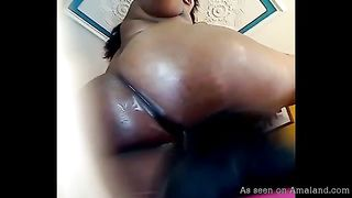 Lustful Latina chick smothers her lesbian GF with her gigantic bottom--_short_preview.mp4