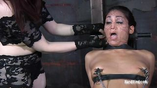 Perverted dominatrix knows how to teach her slave some good manners--_short_preview.mp4