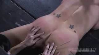 Raven haired dominatrix licks her slave's pussy to orgasm--_short_preview.mp4