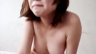 Fucking my Asian girlfriend's pussy missionary style--_short_preview.mp4