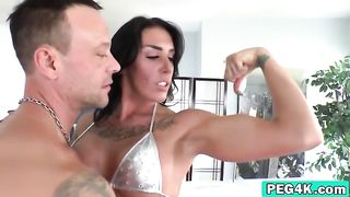 I am wearing the dildo so I am in charge and this man is my bitch--_short_preview.mp4