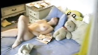 Busty white hot amateur babe in her bedroom spied with camera--_short_preview.mp4