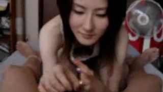 Skinny Chineze brunette girlfriend sucking dick for the first time--_short_preview.mp4