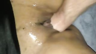 I fist wet lubricated cunt of my kinky and hot like fire wifey--_short_preview.mp4
