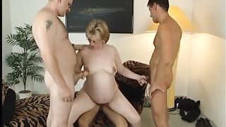 Gang bang for amateur pregnant blonde whore--_short_preview.mp4