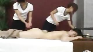 Fascinating women practicing a massage therapy--_short_preview.mp4