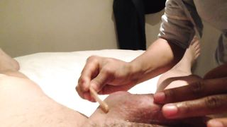 Removing the hair from the erected sausage--_short_preview.mp4
