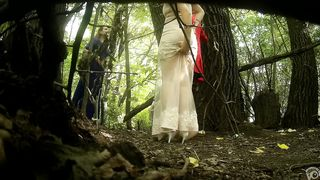Classy bridesmaids take a piss together in the woods--_short_preview.mp4