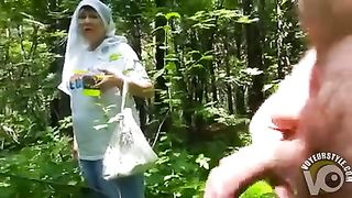 Naked in the forest and jerking off to a mushroom picker--_short_preview.mp4