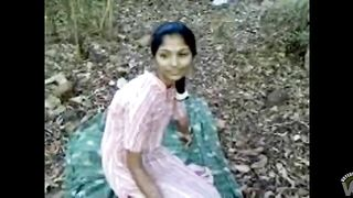 Sex and creampie in the woods with an Indian woman--_short_preview.mp4