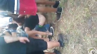 Party babe peeing in the dirt at an outdoor concert--_short_preview.mp4