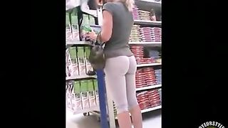 Fantastically hot amateur ass at the grocery store--_short_preview.mp4