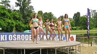 Stunning competitors wear flimsy bikinis to a beauty pageant--_short_preview.mp4