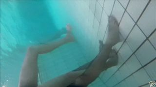 Underwater cams in the pool catch sexy maidens in bikinis fooling around--_short_preview.mp4