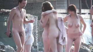 Group of nudist women and men walk around completely naked--_short_preview.mp4