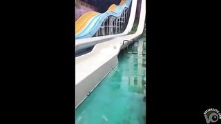 Small breasts exposed on the water slide--_short_preview.mp4