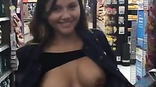 Cutie flashes pierced tits on camera for horny friend--_short_preview.mp4