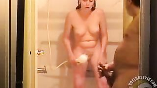 Husband and wife masturbate together in the bathroom--_short_preview.mp4