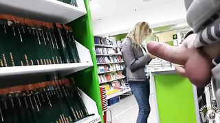 Showing my stiff cock to a girl in the store--_short_preview.mp4