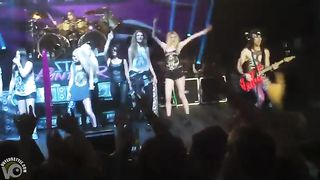 Attractive fan girl goes topless on the stage--_short_preview.mp4