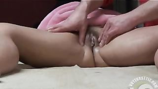 Our friend massages and seduces my horny wife--_short_preview.mp4