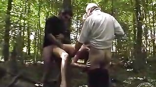 Brunette hooker has a gangbang in the forest--_short_preview.mp4