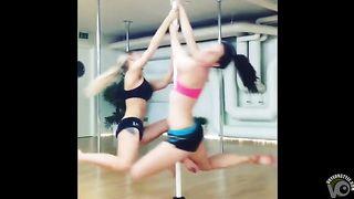 Sexual pole dancing with two beauties--_short_preview.mp4