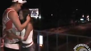 Latin girl fucked on pedestrian bridge over the highway--_short_preview.mp4