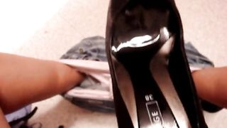 Masturbating with a pair of new shoes--_short_preview.mp4