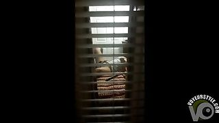 Through the window voyeur video of solo girl--_short_preview.mp4