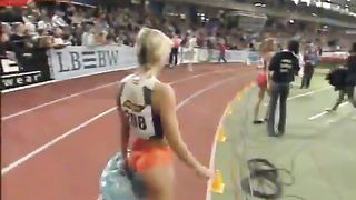 Sprinter's sporty ass in tight orange shorts--_short_preview.mp4
