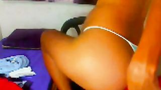 Amateur dark skin hot pregnant babe on webcam changing clothes--_short_preview.mp4