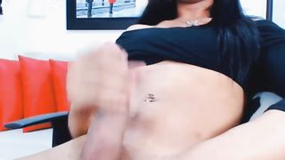 Sweet Hot Tranny Hard Cock Jerks Off--_short_preview.mp4