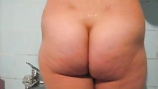 Voluptuous and bosomy pregnant wife in the shower--_short_preview.mp4