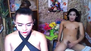 Two Asian Shemale Loves to Jerking Off--_short_preview.mp4