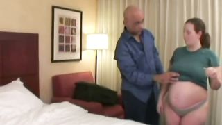 Pregnant babe with huge belly gets stripped and fucked in hotel room--_short_preview.mp4