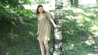 Sweet Russian teen babe by the highway flashes her pussy--_short_preview.mp4